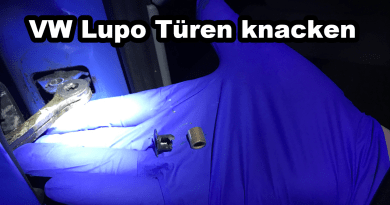 VW Lupo Seat Arosa Türen Tür knacken knackt Reparatur Hülsen Buchsen Türfangband Türfangbänder Anleitung Reparatur