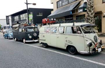 VW約70台の展示