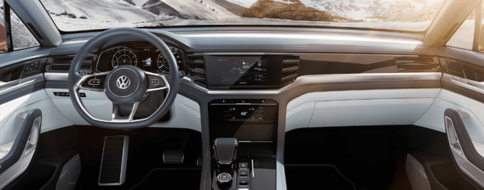 2019 VW Atlas Hybrid Interior