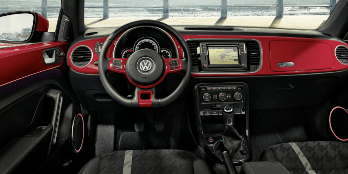 2020 VW Beetle Convertible Owners Manual Interior