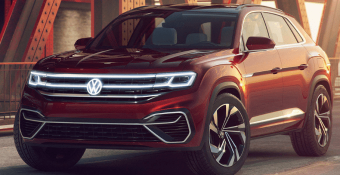 2020 Volkswagen Atlas Changes Exterior