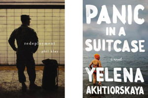5 under 35, National Book Awards, Redeployment, Panic in a Suitcase