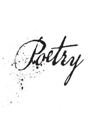 National Poetry Month, poetry, calligraphy