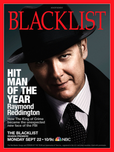 TV, NBC, Blacklist, James Spader, magazine cover