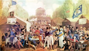 4th of July, early America, John Lewis Krimmel, Philadelphia