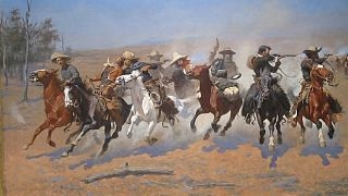 A Dash for the Timber, Frederic Remington, Amon Carter Museum