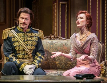 Jon Barker, Victoria Mack, The Guardsman, Shakespeare Theatre of New Jersey