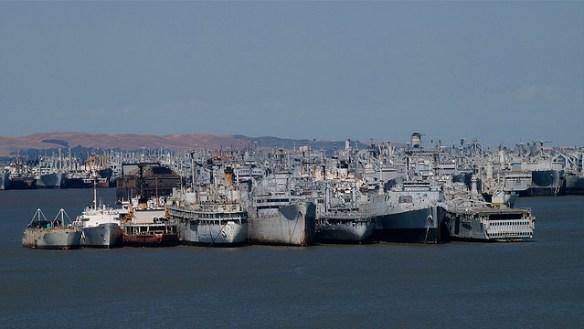 navy ships, ghost fleet