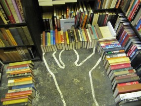 chalk outline, body