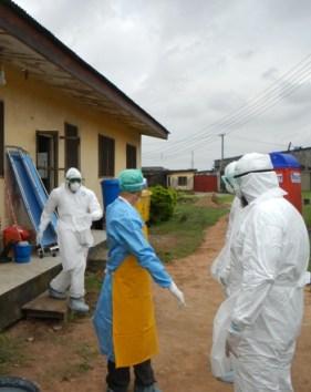 Ebola workers, Liberia