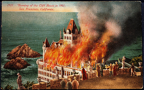 Cliff House fire, San Francisco
