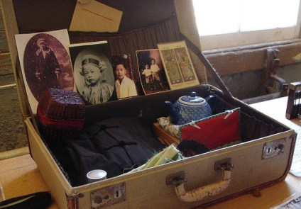 suitcase, Asian
