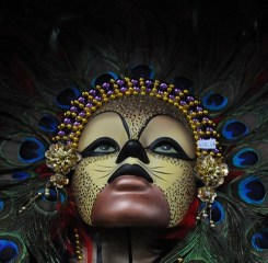 mardi-gras mask, New Orleans