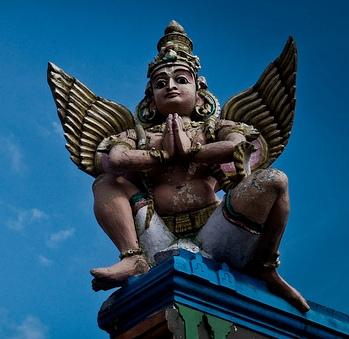 Hindu God Baruda