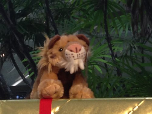 Sabre-toothed cat, Los Angeles, toy