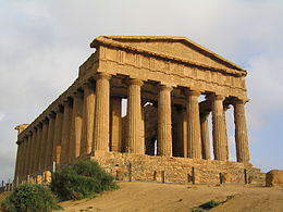 Agrigento - Temple of Concordia