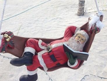 Santa Claus, reading