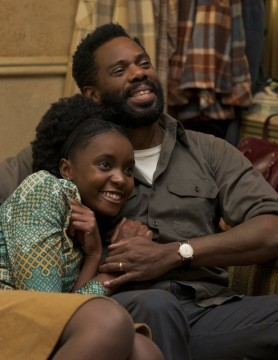 KiKi Layne and Colman Domingo, If Beale Street Could talk