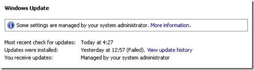 windows updates before