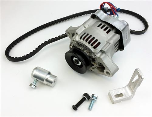 12v alternator conversion kit 55 amp alternator for type 3 engine in vw  squareback fastback or notchback