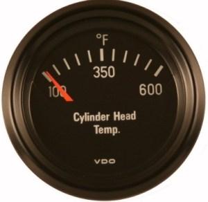 VDO 600F Cylinder Head Temperature (CHT) Gauge, Cockpit