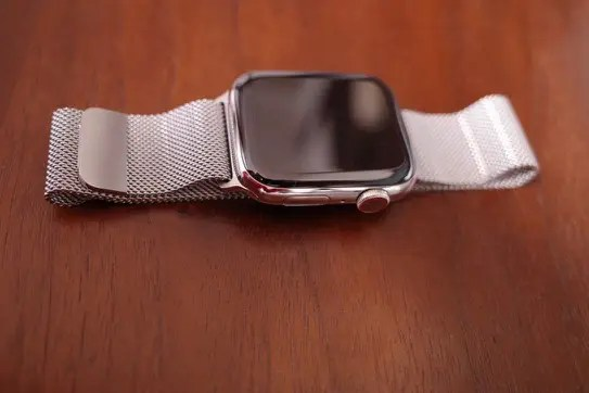 Apple Watch Series 4(GPS + Cellularモデル)- 44mmステンレススチールケースとミラネーゼループ