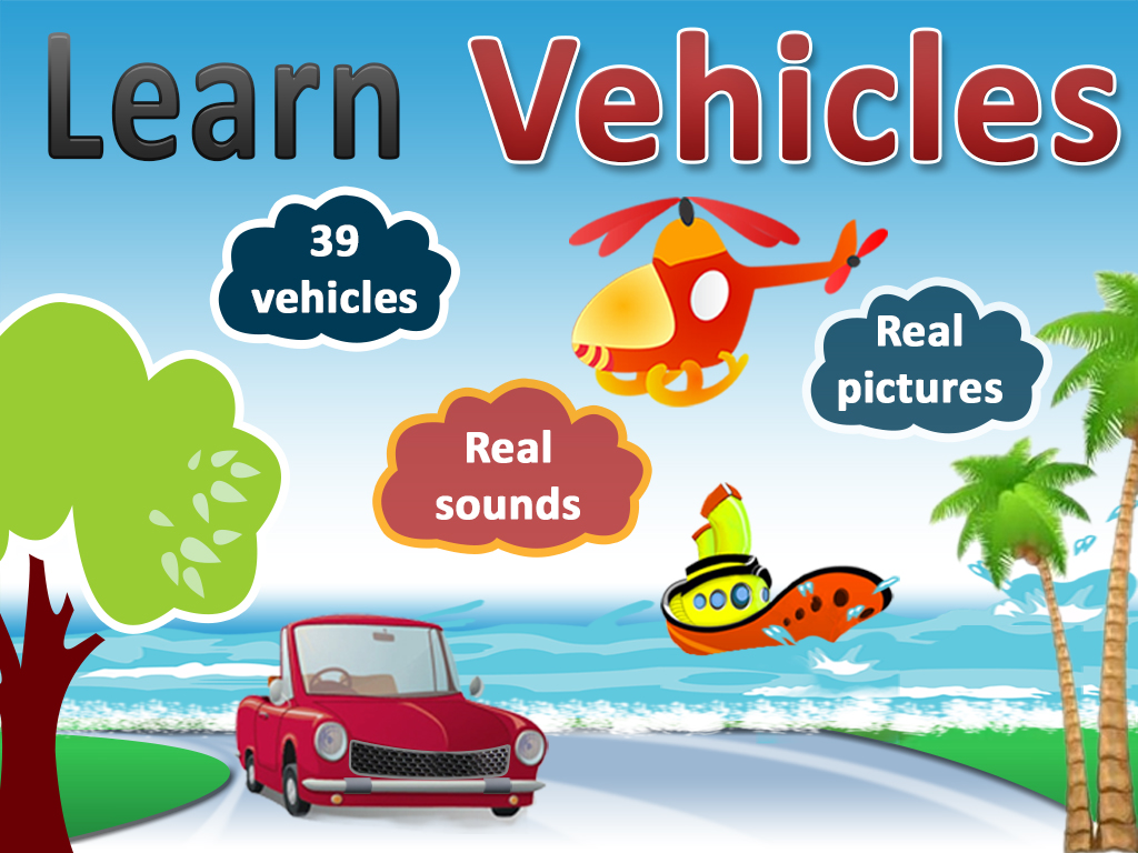 Learn With Fun Learn Vehicles Land Vehicles Water