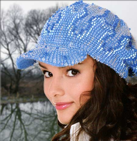 вязание спицами с бисером кепка спицами с бисерными узорами