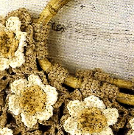 45a0edb27ba4 Сумка крючком из ромашек от форума осинки | Вязание Шапок - Модные и ...