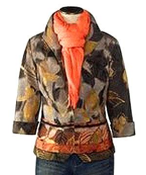 как красиво завязать шарф на шею 2