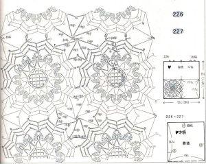 вязаные подушки крючком схемы
