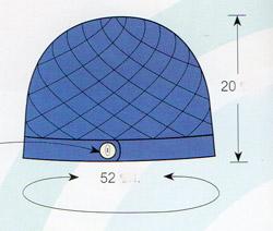 шапка крючком на осень