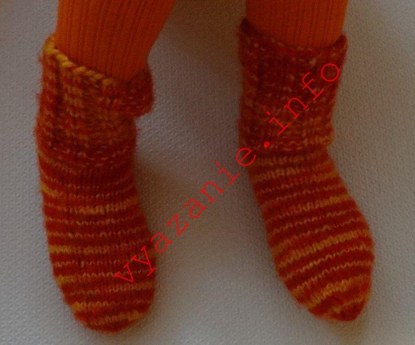 носки мужские двумя спицами 43 размер мужские носки спицами самое