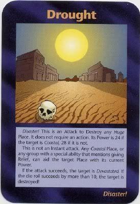 イルミナティカードの予言㊲干ばつ編