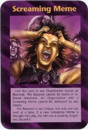 イルミナティカードの予言⑫叫ぶミーム編