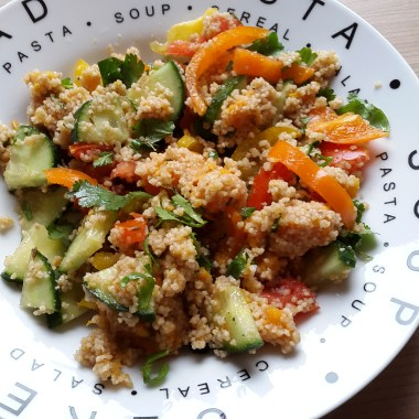 Vy's 3rd version of couscous salad | © Vylyst