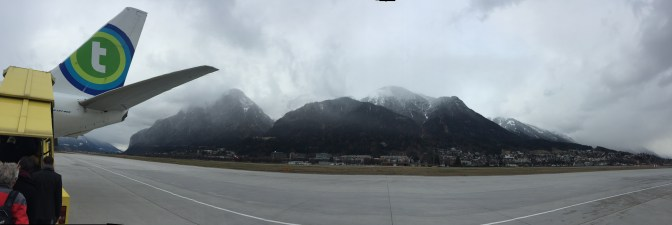 The misty mountains leading back home