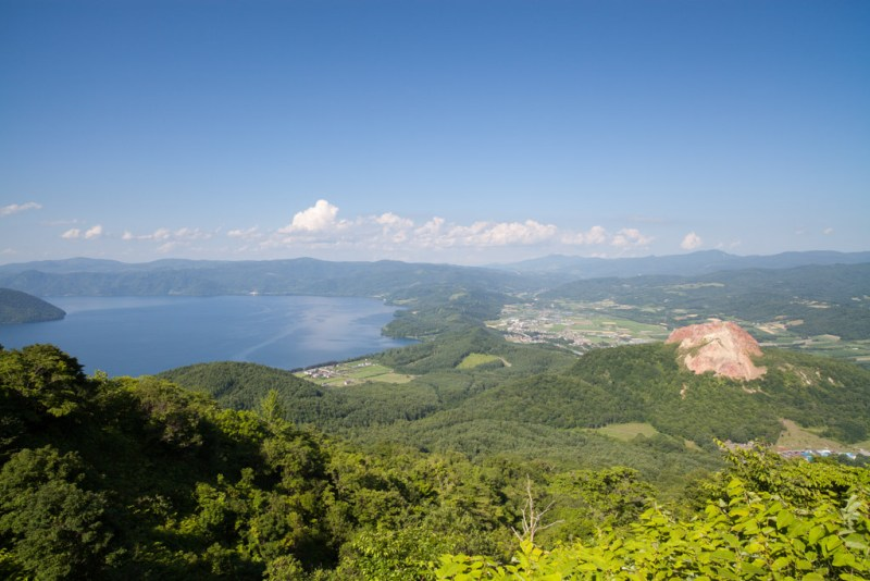 Le lac Toya