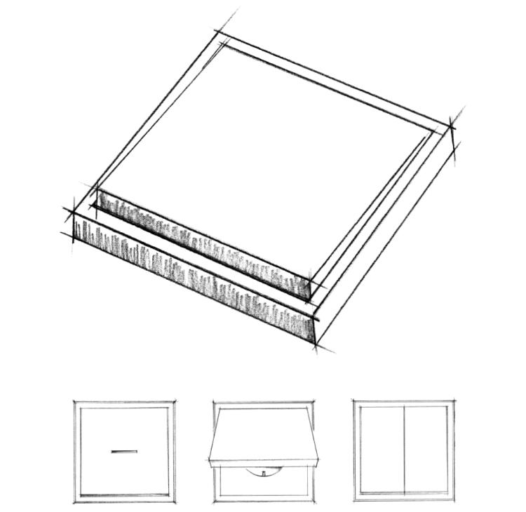 Jednoduché a lehké linie designových vypínačů JUNG  LS990