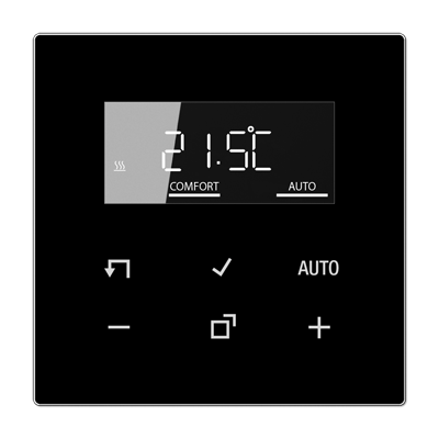 JUNG pokojový termostat s displayem LS990