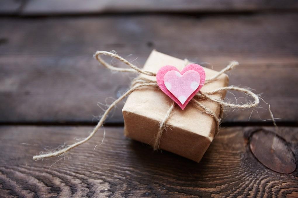 A Valentine's Day gift box