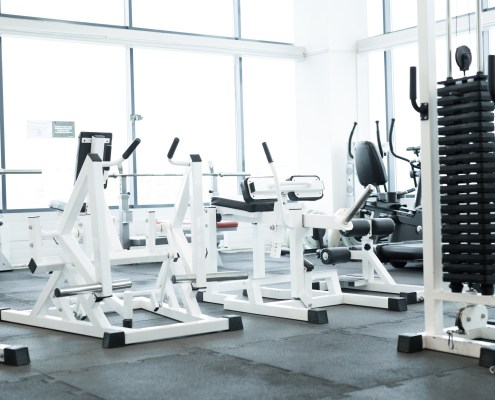 A picture of gym equipment