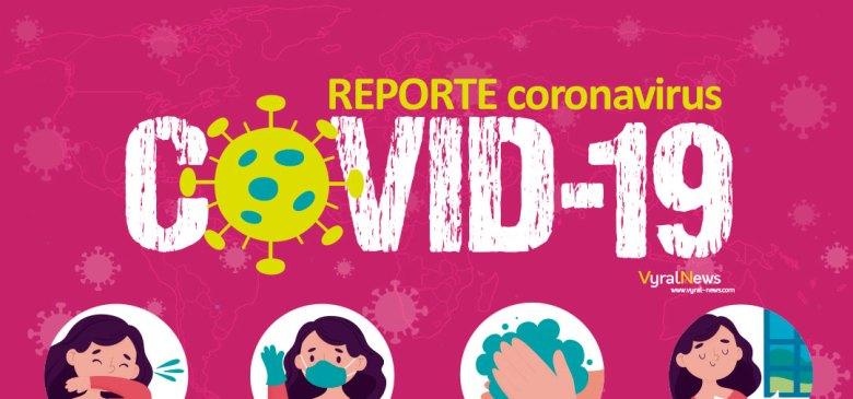 Reporte Covid-19 en el mundo