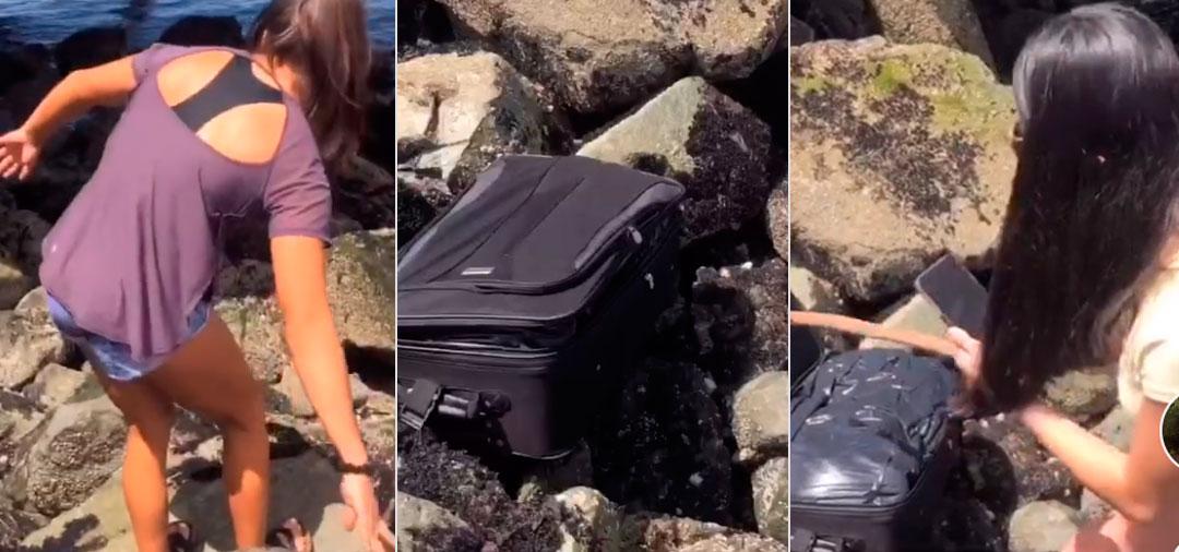 Adolescentes publicaron en TikTok el hallazgo de un cadáver