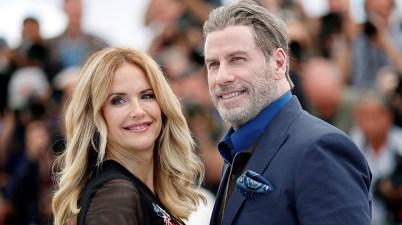 John Travolta y Kelly Preston