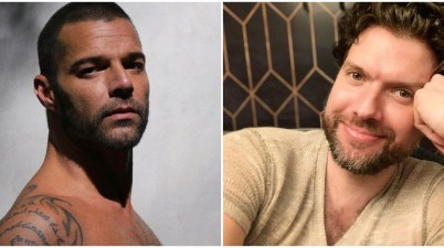 Ricky Martin y Mauricio Martínez