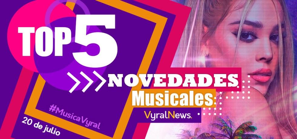 Novedades musicales del 20 de julio