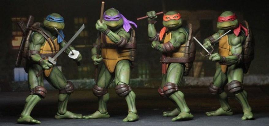 "Nickelodeon planea relanzar ""Teenage Mutant Ninja Turtles"""