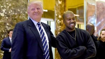 Trump y Kanye West