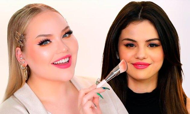 NikkieTutorials y Selena Gomez